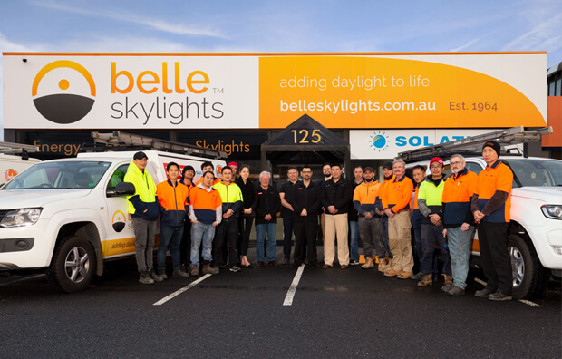 Belle Skylights Staff