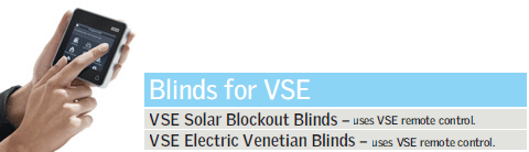 Blinds for VSE Remote Control