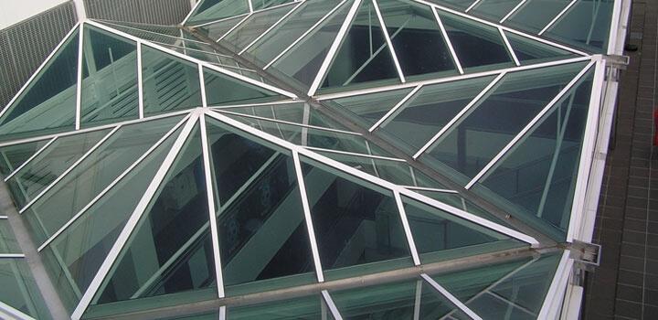 Glass Roofs - INTALOK