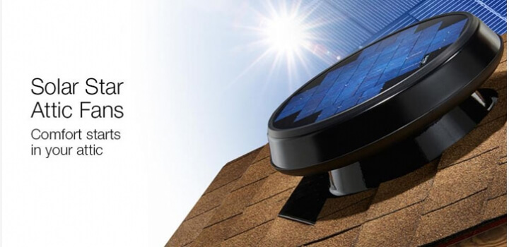 Solar Star Attic Fans - Comfort Starts in your Attic